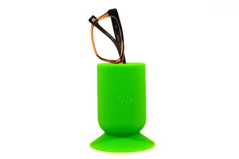 Silikon Friend Becher grün